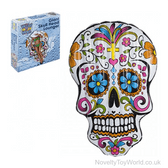 Skull Pool Lounger Inflatable - Day of the Dead (180cm)
